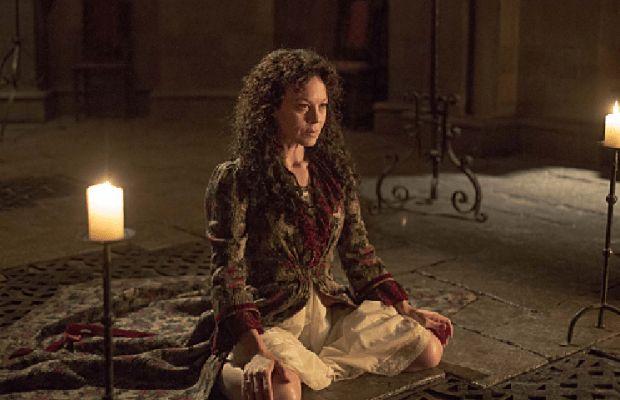 Helen McCrory as Evelyn Poole in Penny Dreadful (season 2, episode 1). - Photo: Jonathan Hession/SHOWTIME - Photo ID: PennyDreadful_201_4492