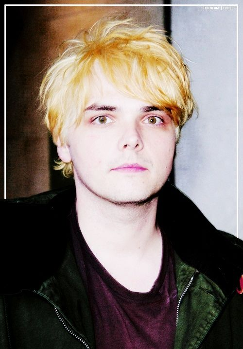 78 Best Images About Gerard Way Blonde On Pinterest