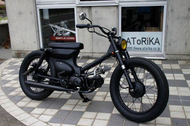 Custom Cub by Garage 521/Atorika ~ Japan..