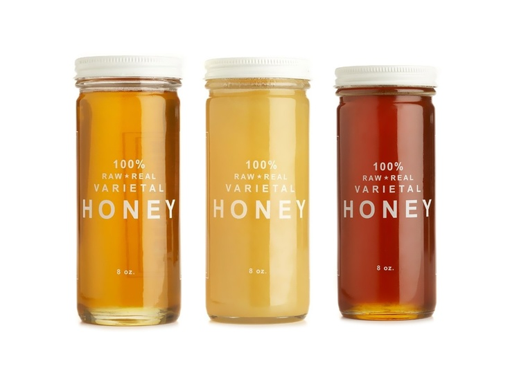 Love this simple packaging for Bee Raw Honey: Simple Packaging, Collection 36, Gifts Ideas, Color, Packaging Design, Raw Honey, Honey Collection, Products, Bees Raw