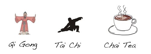 Difference between Qi Gong, Tai Chi and Chai Tea ;-)