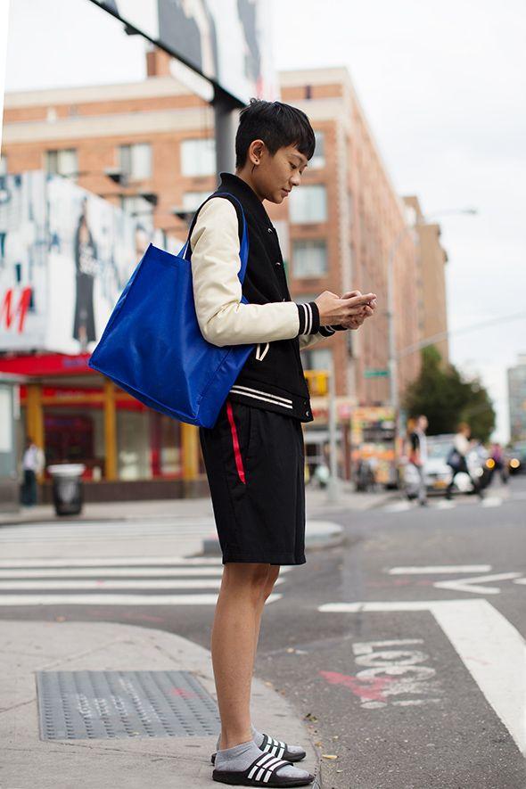 On the Street…..Basketball Shorts, Milan, New York & Paris