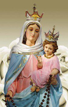 Nuestra Señora del Rosario de San Nicolás / 25 de Sepiembre / Años 1983-1990 / Lugar: San Nicolás de Los Arroyos, Argentina / Apariciones de la Virgen a Gladys Herminia Quiroga de Motta.