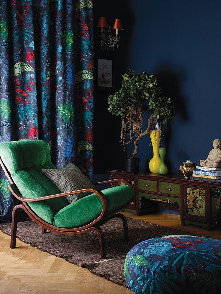 Matthew Williamson Floridita Fabric Osborne Ane Little | TM Interiors Limited