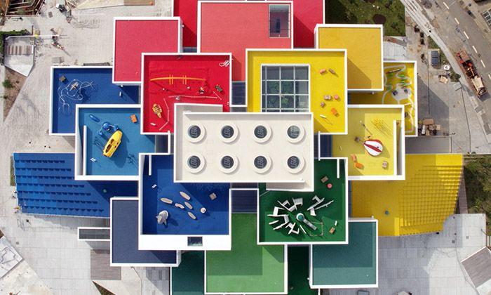 V Dánsku byl otevřen Lego House postavený z kostek