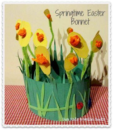 Sun Hats & Wellie Boots: Springtime Easter Bonnet