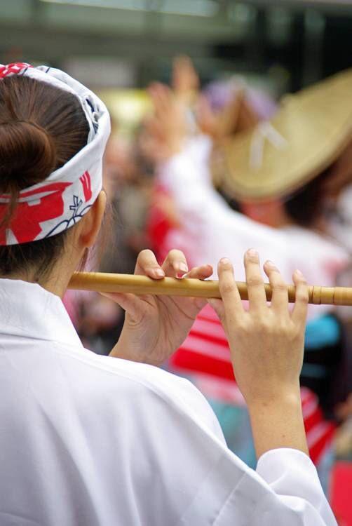 阿波踊り笛