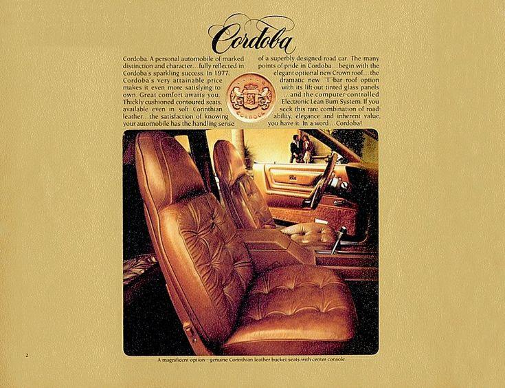 94 Best Chrysler Cordoba Images On Pinterest Chrysler