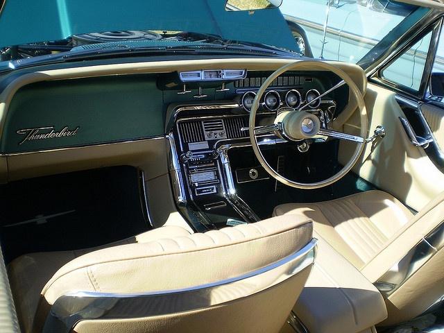 65 Thunderbird interior