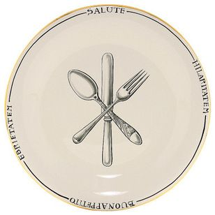 Mediterranean Charger Plates by Artistica Italian Gallery