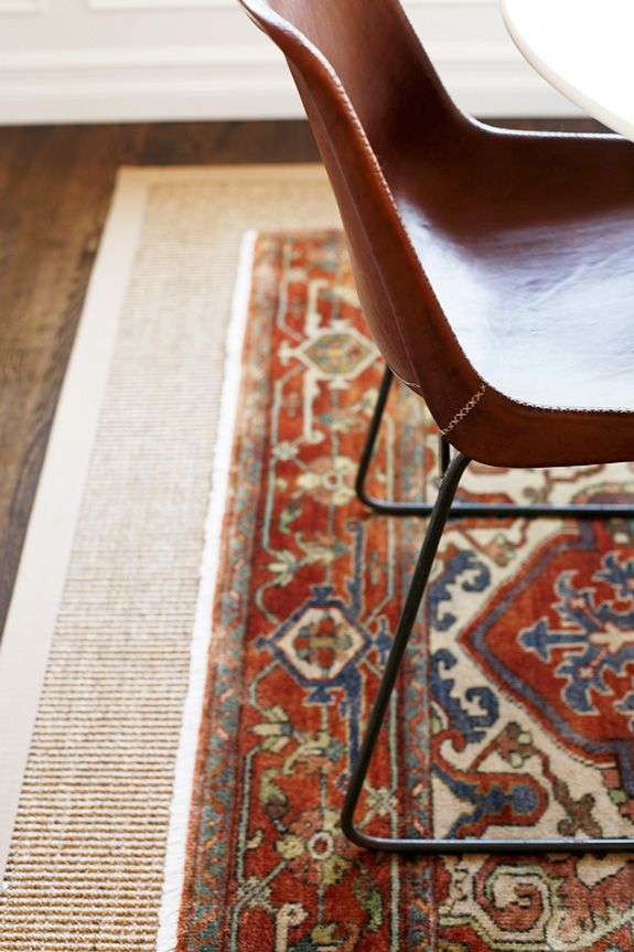 Layering Complementary Rugs
