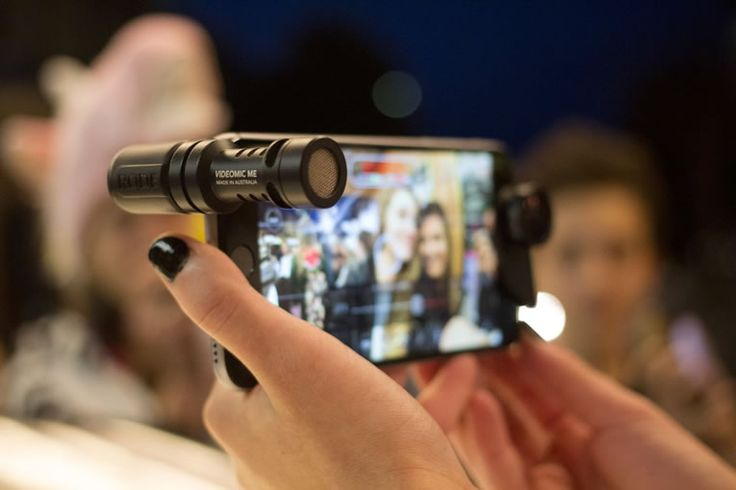 Rode VideoMic Me Directional Microphone For Phones Kicks Up Viral Videos With Quality Audio -  #audio #iphone