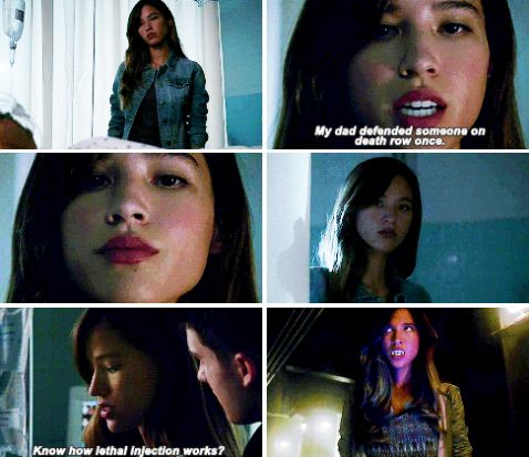 "#TeenWolf #5x12 #DamnatioMemoriae - ""My dad defended someone on death row once. Know how lethal injection works? One of the drugs they use paralyzes your diaphragm. Makes it impossible to breathe."""