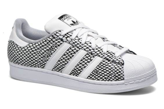 Adidas Originals Superstar Snake Pack (Blanc) - Baskets chez Sarenza (231039)