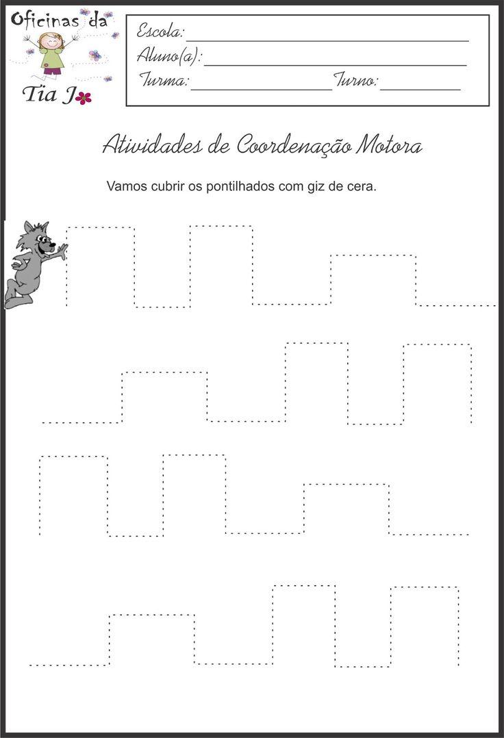Esta pagina é especialmente para trabalhar nas turma de maternal e ensino infantil 1 e 2. São várias atividades para trabalhar a coorde...
