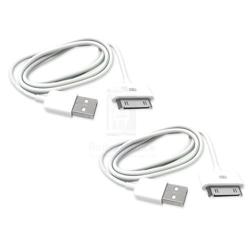 2x New USB Synchronise Charger Cable Cord for Apple iPhone 3 3G 3GS 4 4S 5 5G DON'T WORRY!★★★SHIPS SAME DAY/NEXT DAY FROM PHX, AZ!★★★ $2.10