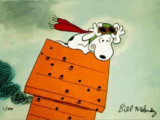 Max Teller's Amazing Adventures: Snoopy Vs. The Red Baron!!!