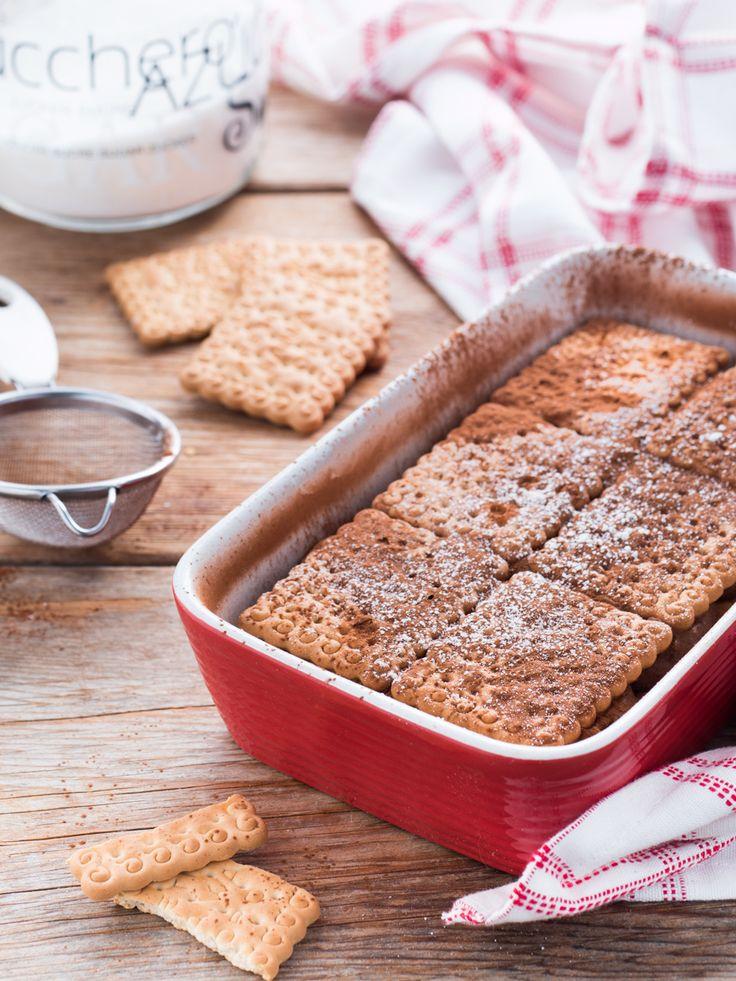 Mattonella di biscotti ricotta e cioccolato