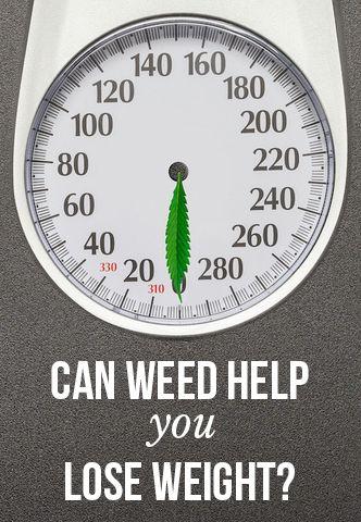 Smoke weed lose weight