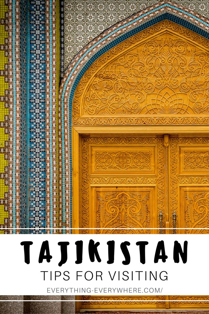 Practical tips for visiting Tajikistan, a country in Central Asia. Things to do and see from the Alauddin Lakes to the Fann Mountains to the Pamir Highway + essential information and tips for your trip. Travel in Central Asia.   Everything Everywhere Travel Blog#Tajikistan