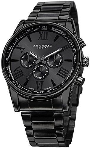 sunray black single men Men's watches men's watches  sunray black bracelet : stainless steel  whose movement includes a single-crystal silicon balance spring with unique properties.