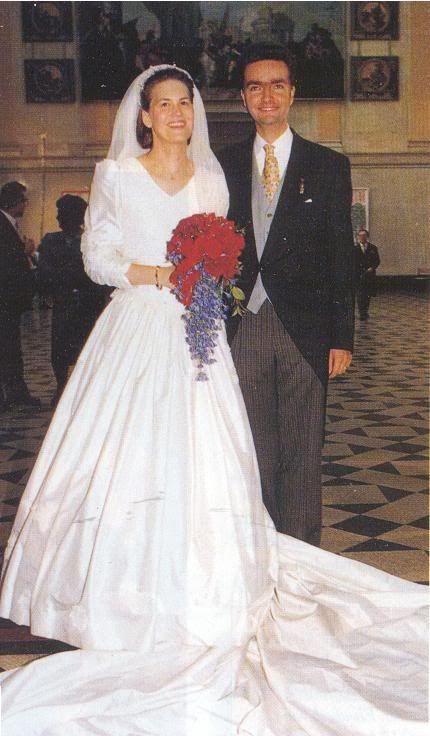 Wedding of Duke Paul Wladimir von Oldenburg, older brother of Rixa, and Maria del Pilar Méndez de Vigo y Löwenstein-Wertheim-Rosenberg