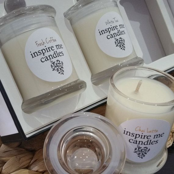 Inspire Me Candles Trio No.5  Coffee White by InspireMeCandlesAust