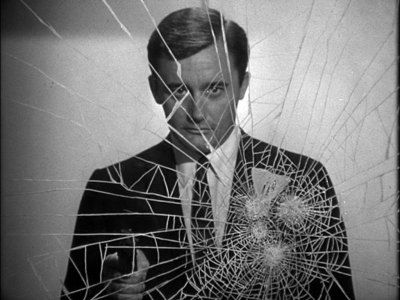 "The original opening of ""The Man from U.N.C.L.E."" (1965-1968) with Robert Vaughn as Napoleon Solo."