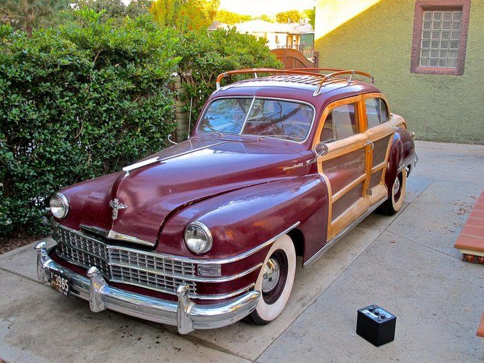 Classic 1947 Chrysler Town Country Chrysler Cars For Sale Old Cars