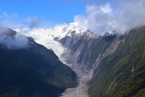 Glacier Photography Franz Joseph New by photographicsandmore
