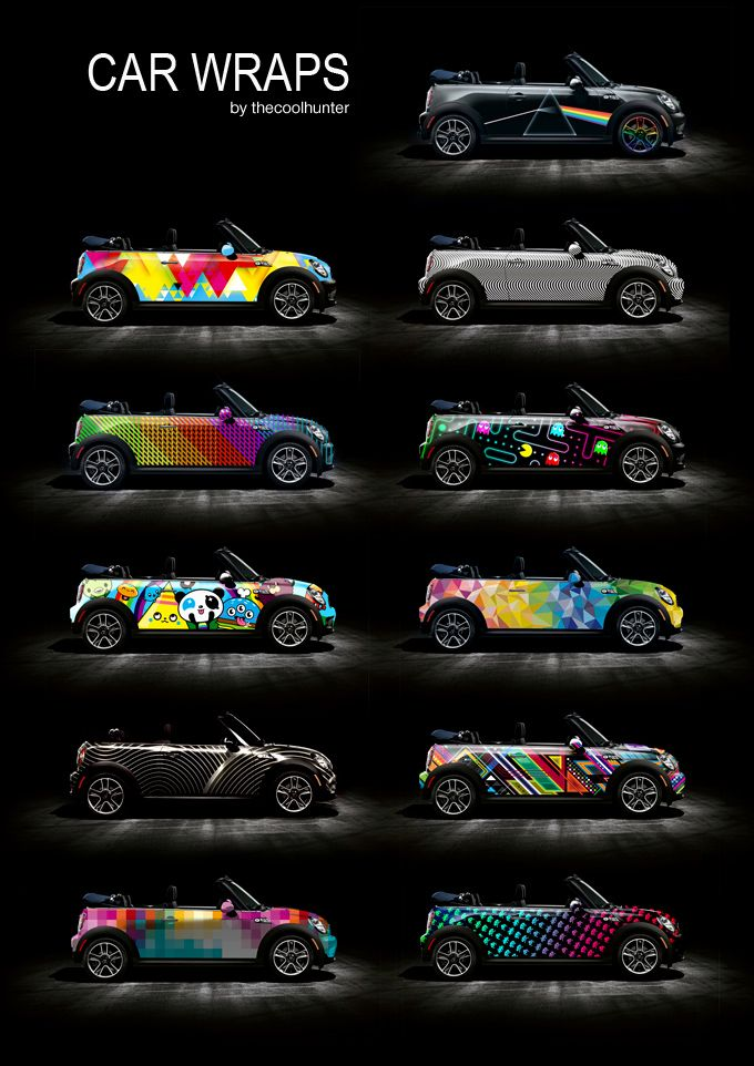 mini cooper car wraps - Signazon.com