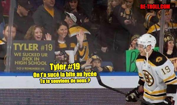 Ce coquin de Tyler... - Be-troll - vidéos humour, actualité insolite