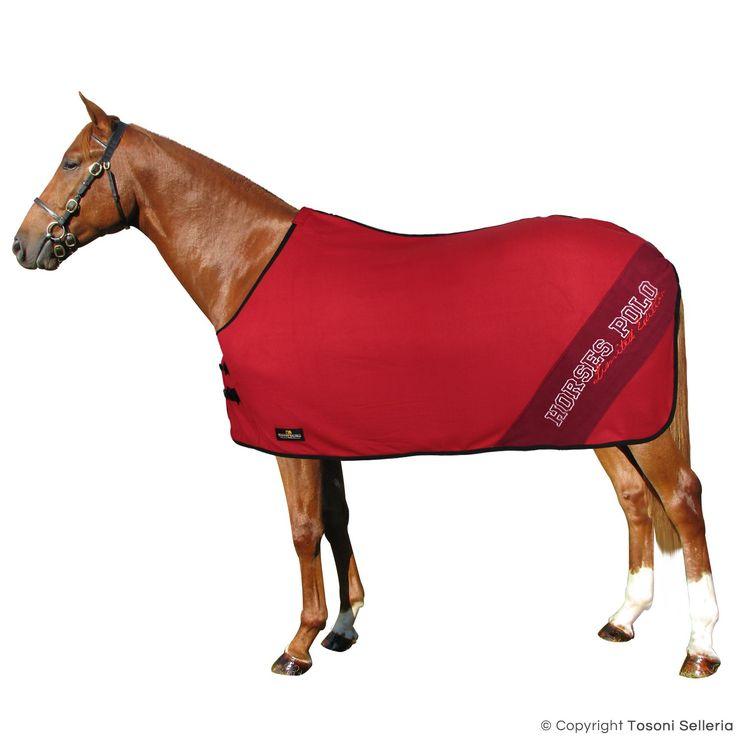 Coperta Pile Horses Polo