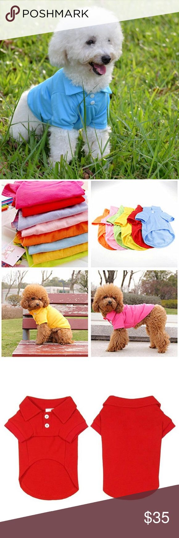 Coming Soon Polo Shirt For Male Dog/Cat Polo T Shirt Spring Puppy Dog Vest Pet T-shirt For Dogs Mascotas Small Dog Clothes Puppy Apparel Pet Clothing Accessories For Cat Gentlemans Boutique Other