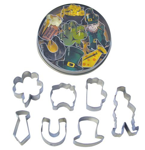 R and M International 1984 Irish Cookie Cutter, Mini, Set of 7 >>> Sensational bargains just a click away : Baking Accessories