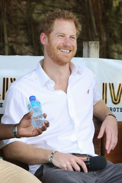 Prince Harry Photos Photos - Prince Harry speaks on stage at 'Nature Fun Ranch' on the eleventh day of an official visit on December 1, 2016 in St Andrew, Barbados. The ranch allows young people to speak freely with one another about important topics, including HIV/AIDS, providing them with a positive focus to guide their lives in the right direction. Prince Harry's visit to The Caribbean marks the 35th Anniversary of Independence in Antigua and Barbuda and the 50th Anniversary of…