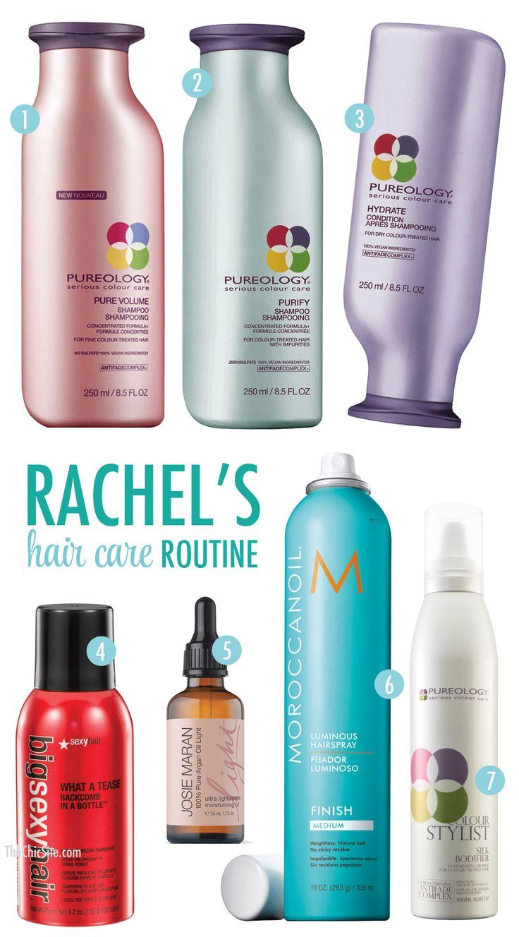 Rachel's Hair Care Routine