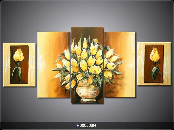 25 beste idee n over geel schilderij op pinterest gele kunst canvas schilderen en geel - Bruin taupe schilderij ...