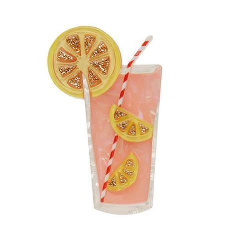 Pink Lemonade Brooch