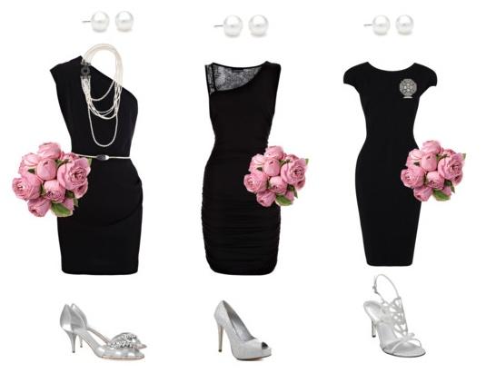 119 best Black White Pink Wedding images on Pinterest Centerpieces