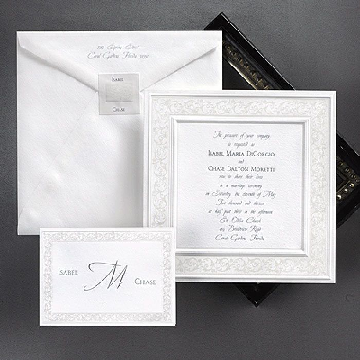 Best 25 Embossed wedding invitations ideas on Pinterest Vintage