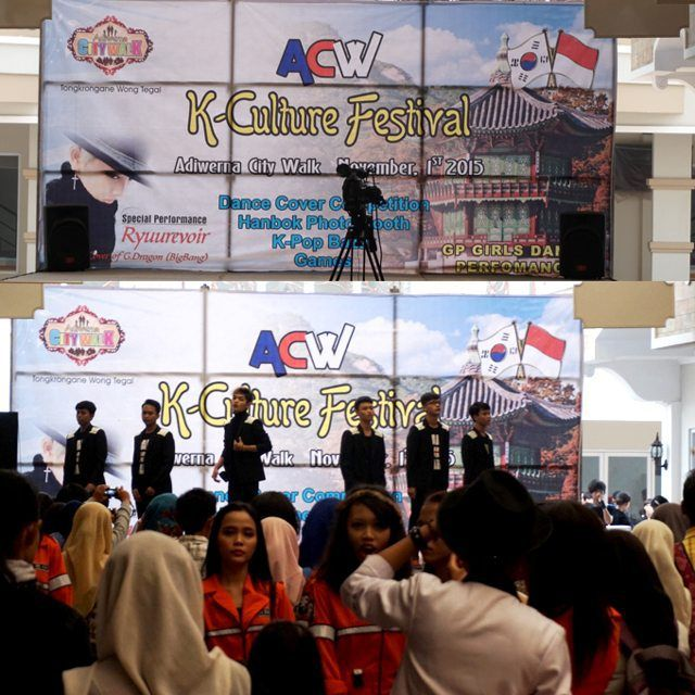 BOOTH NEC SHOP KPOP DI ADIWERNA CITY WALK K-CULTURE FESTIVAL 1 NOVEMBER 2015 - NEC Shop Kpop