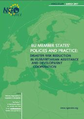 EU Member States' policies and practice: Disaster Risk Reduction in humanitarian assistance and development cooperation