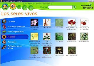 software educativo: de en carta: SOFTWARE EDUCATIVO : ENCARTA