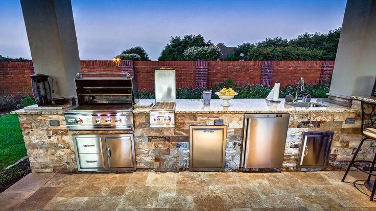 12 Top Outdoor Kitchen Design-Ideen für Ihr Zuhause Outdoor