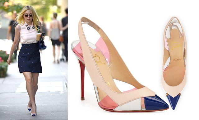 "#zapatos ""Air Chance"" de Christian Louboutin"