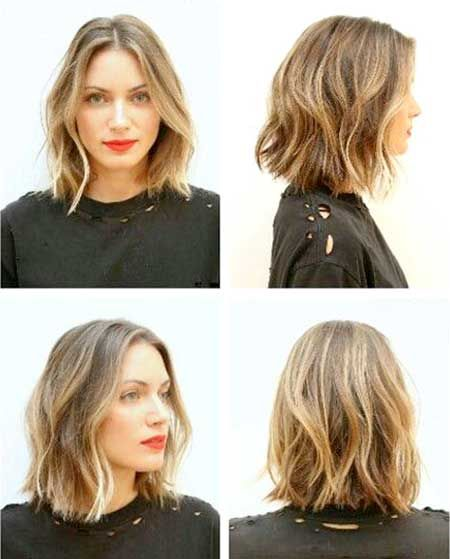 Short Wavy Hairstyles 2014-2015 | http://www.short-haircut.com/short-wavy-hairstyles-2014-2015.html