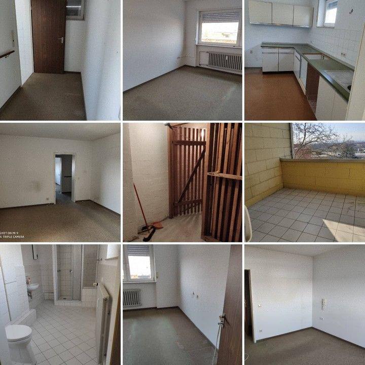 Wohnung vorher nachher messi Entrümpelung Krefeld,