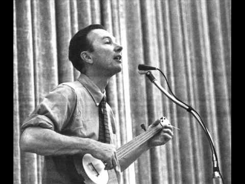 PETE SEEGER ~ Where Have All The Flowers Gone - RIP Pete.