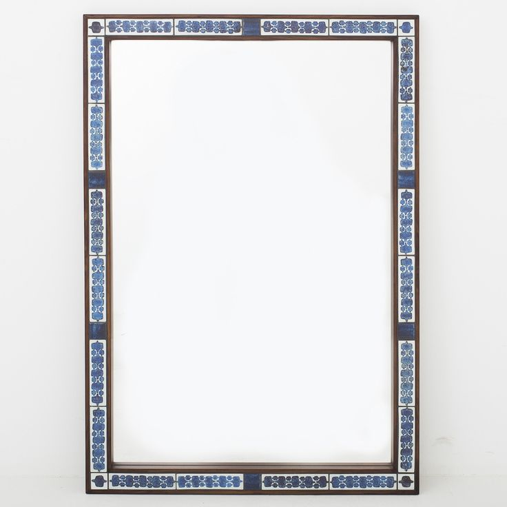 Mirror in rosewood